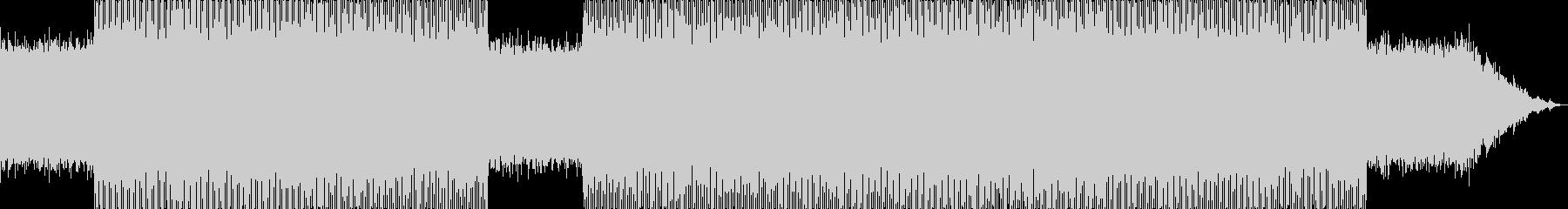 ネバーエンディングストーリーを思わせる曲の未再生の波形
