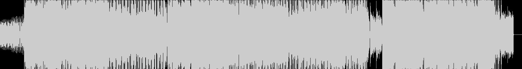 椿の未再生の波形