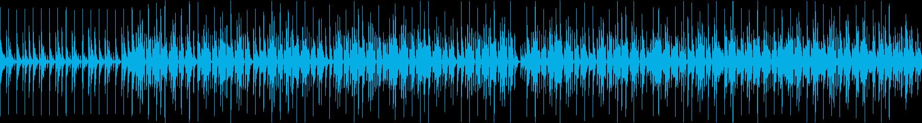 ラジオ・動画・番組等のナレーションBGMの再生済みの波形