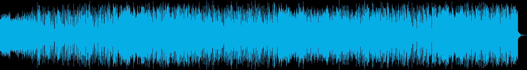 ノリの良いバトルミュージックの再生済みの波形