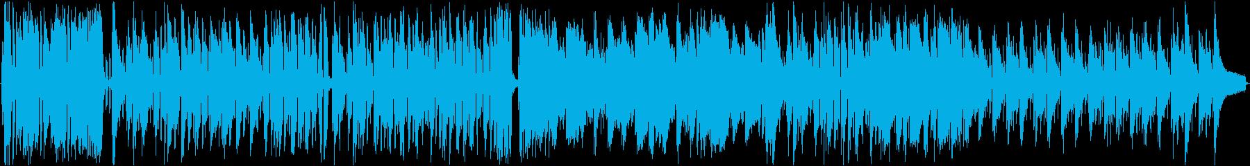 フラメンコ風 おしゃれななラテンBGMの再生済みの波形