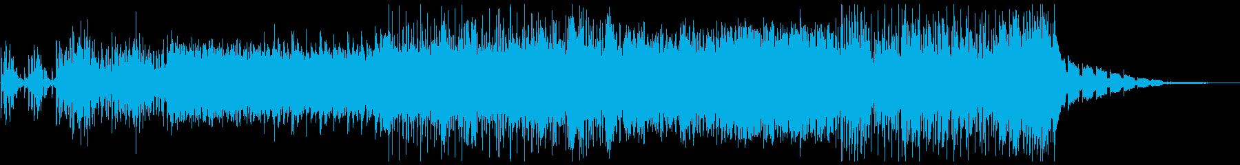 クールなピアノが印象的なエレクトロニカの再生済みの波形