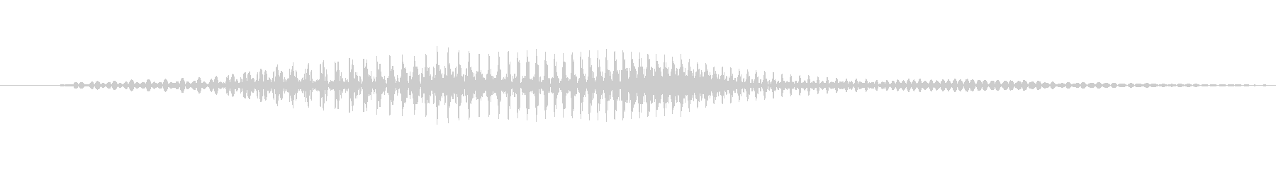 「ロン」麻雀の未再生の波形