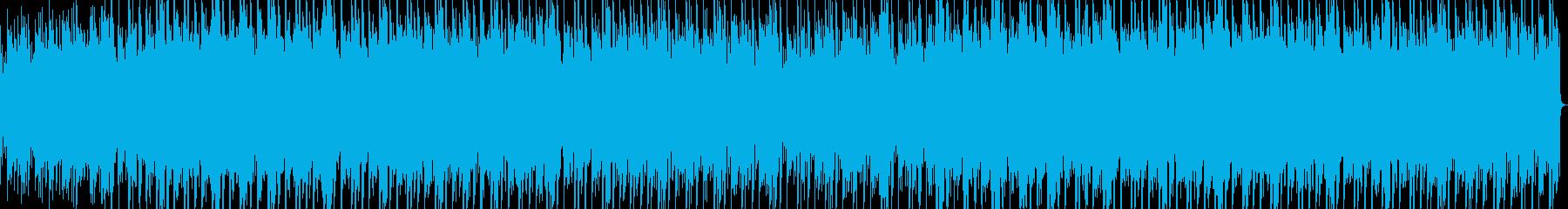 キャンプ・アウトドアなアコギBGMの再生済みの波形