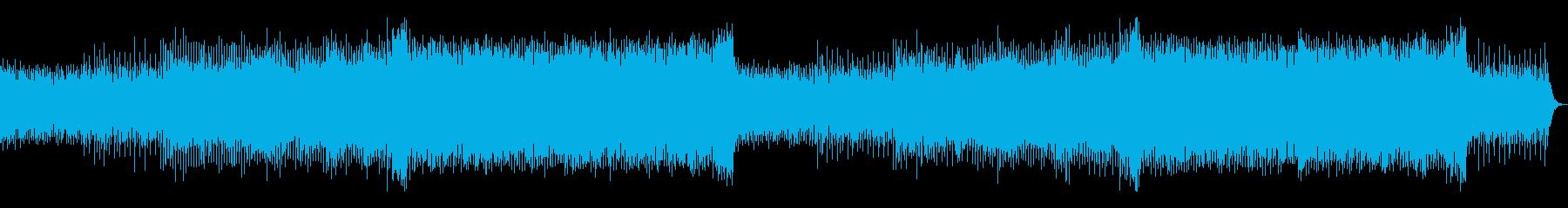 爽やか・CM・走る・疾走感・EDMの再生済みの波形