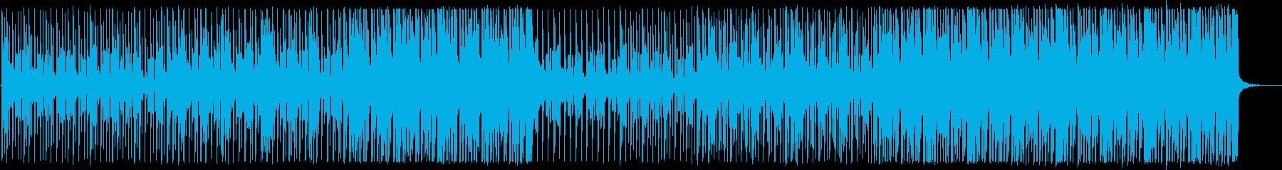 前向き/明るい/ハウス_No475_1の再生済みの波形