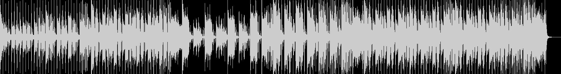 オシャレな感じのエレクトロファンクの未再生の波形