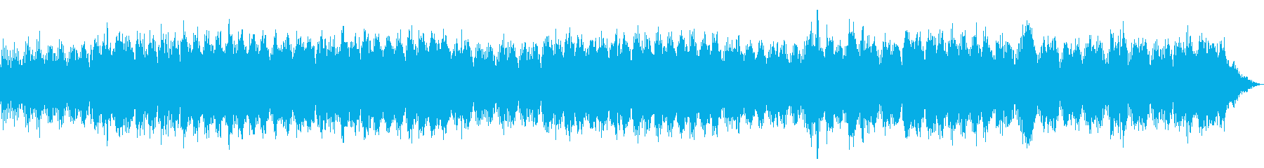瞑想やヨガ、睡眠誘導のための音楽 01の再生済みの波形