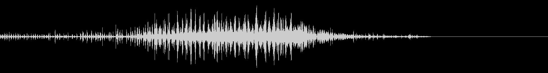 スパーク音-49の未再生の波形