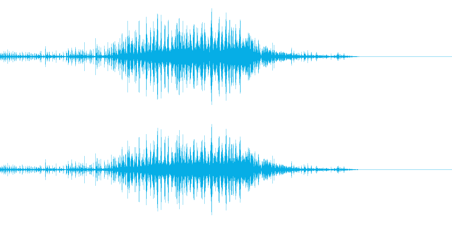 スパーク音-49の再生済みの波形