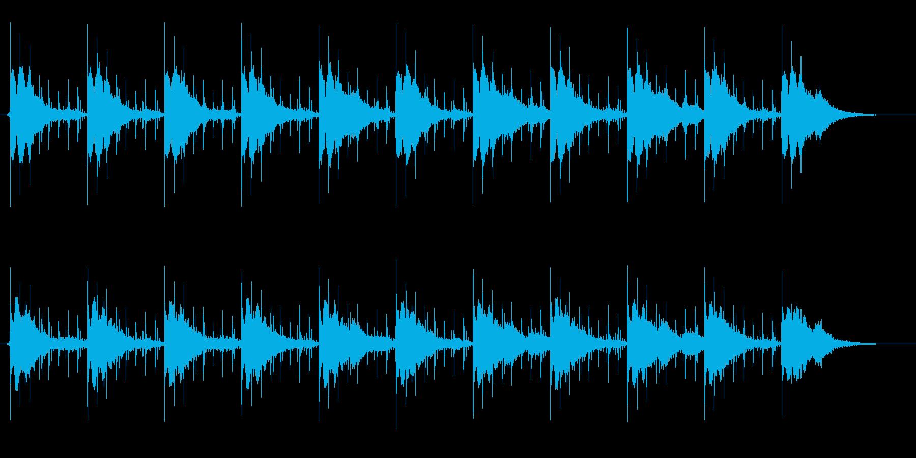 サスペンスドラマ向き楽曲。ミディアムテ…の再生済みの波形
