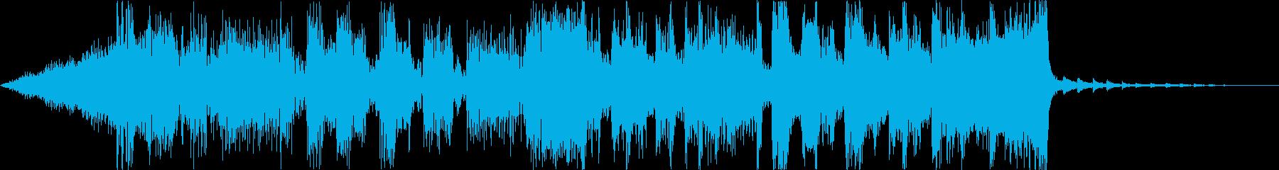 緊迫デジタルダークシネマティックEDMeの再生済みの波形