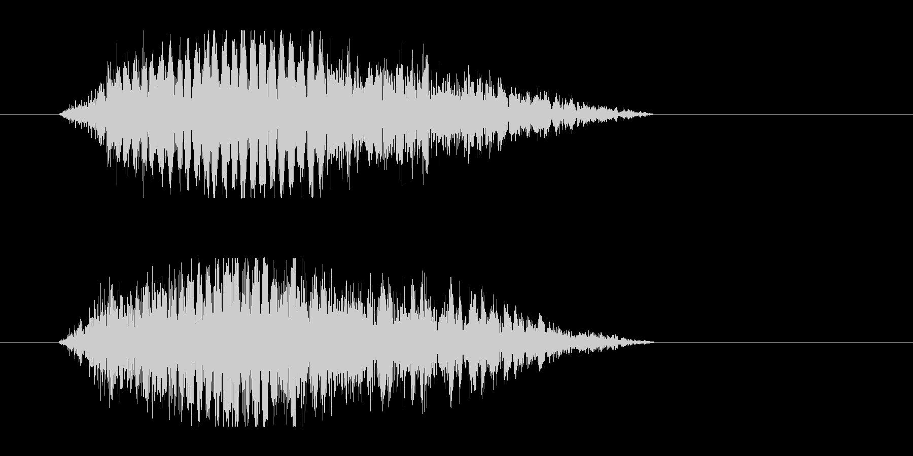 レーザー音-48-3の未再生の波形