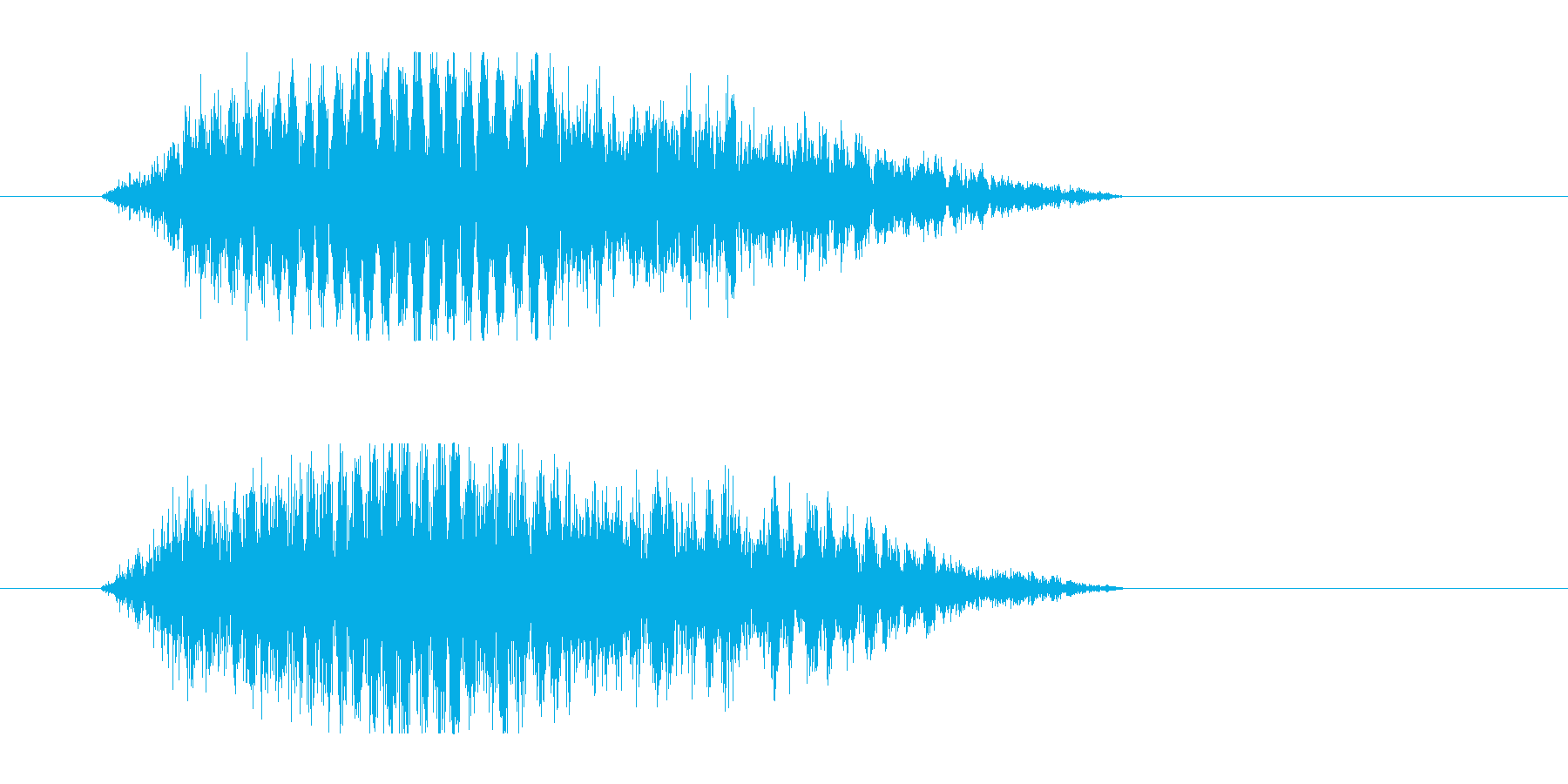 レーザー音-48-3の再生済みの波形