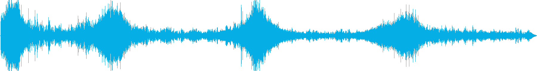 砂利をオンにしたマスタングx4ミディアムの再生済みの波形