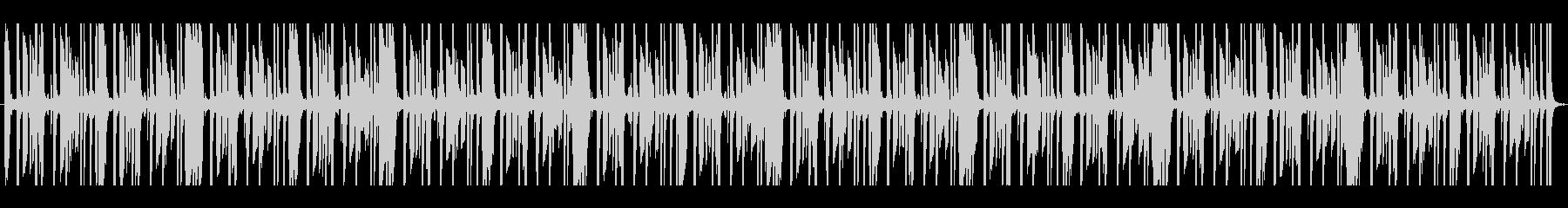 怪しげなサウンドのリズム系トラックです。の未再生の波形