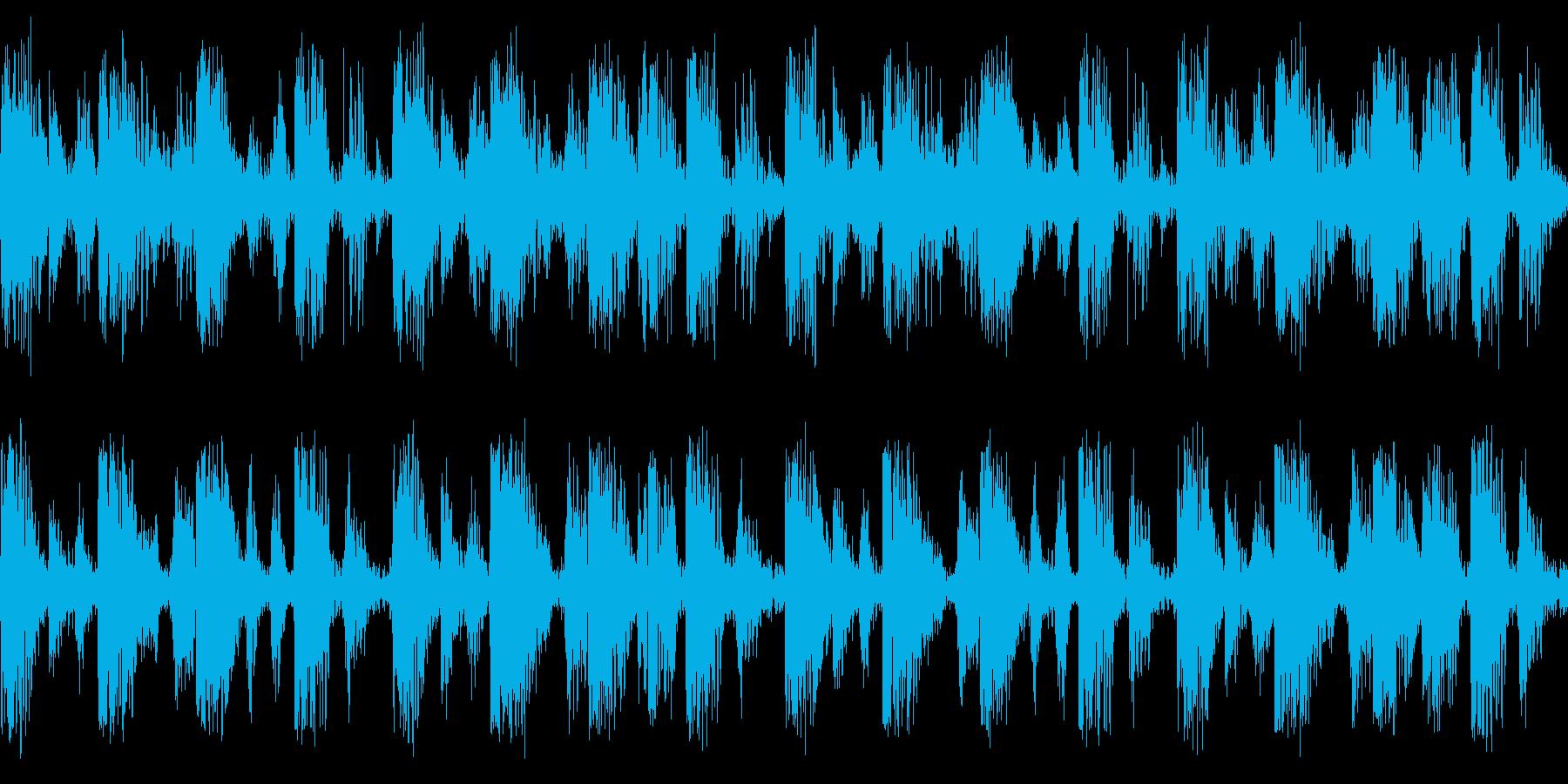 ループ音源となっております。の再生済みの波形