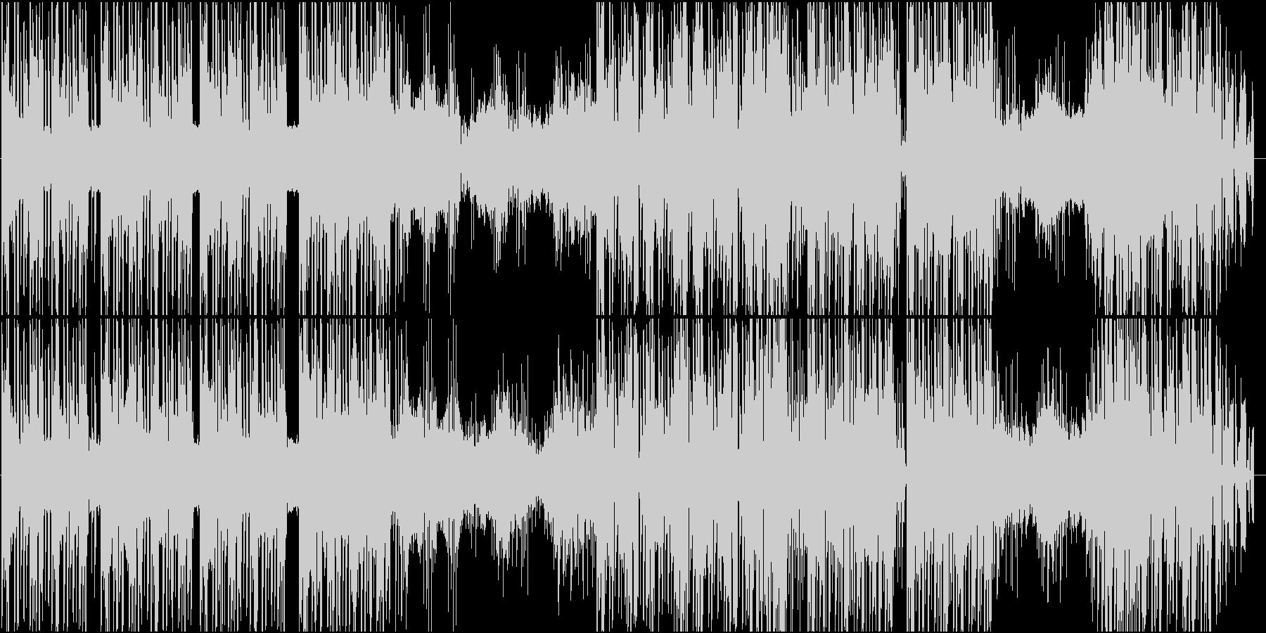 エッジの効いたダークシンセの未再生の波形