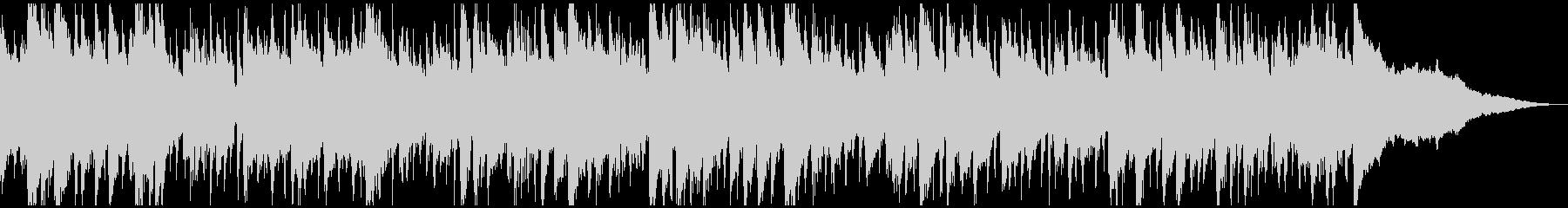 生演奏・正月定番曲「一月一日」ボサノバの未再生の波形