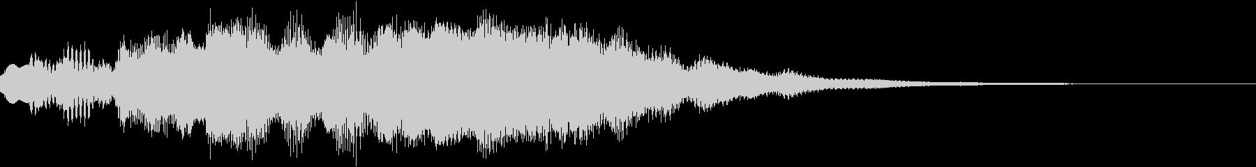 神秘的なクリスタル音04- ジングルCMの未再生の波形