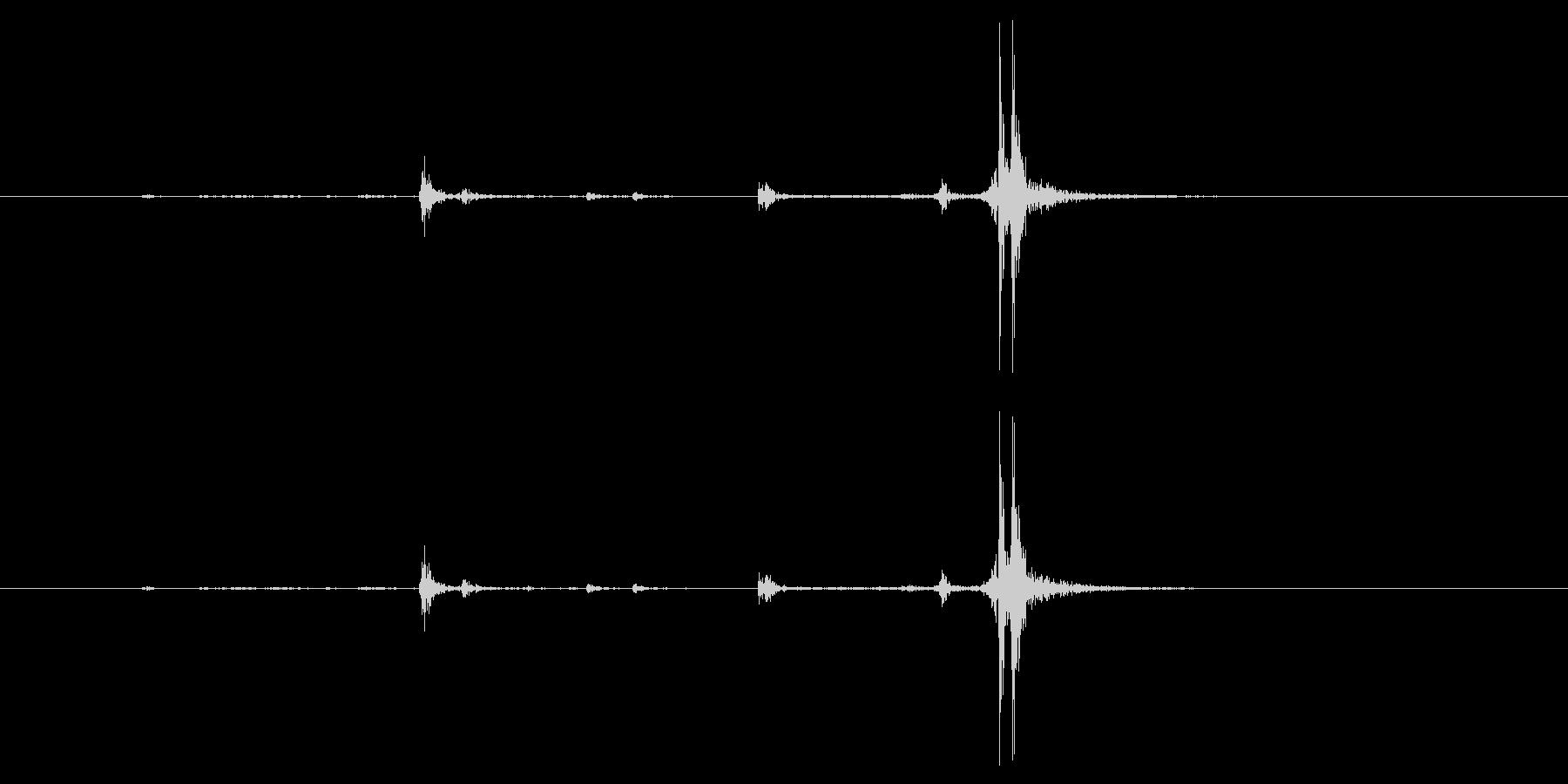小口径ライフル:ボルトアクション:...の未再生の波形