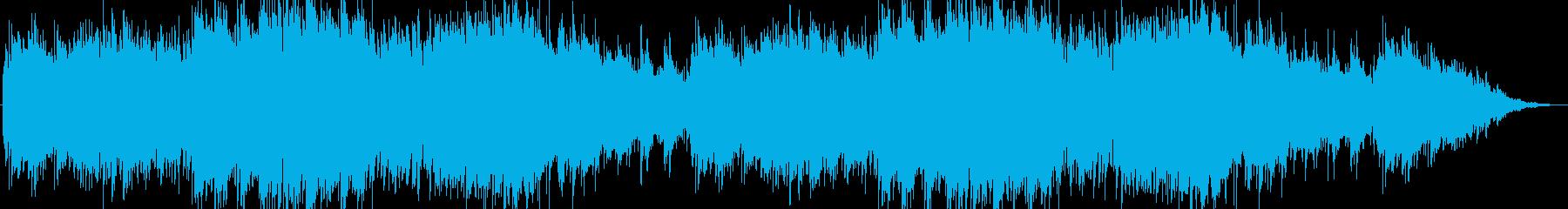 笛の音が特徴的な穏やかな村を表現した楽曲の再生済みの波形