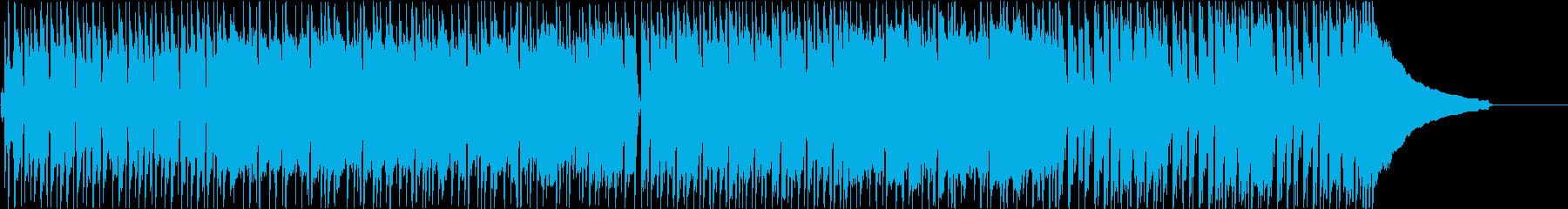 元気で勢いのあるポップロックの再生済みの波形