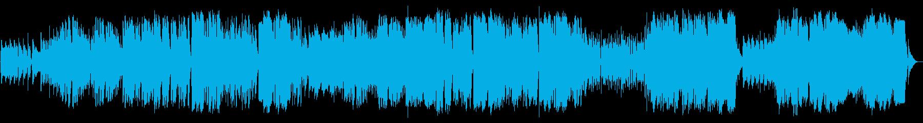 英語洋楽:切な系ポール風オルガンバラードの再生済みの波形