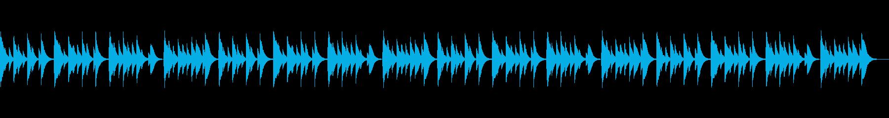 安心感で包み込んでくれる安らぎ音楽の再生済みの波形