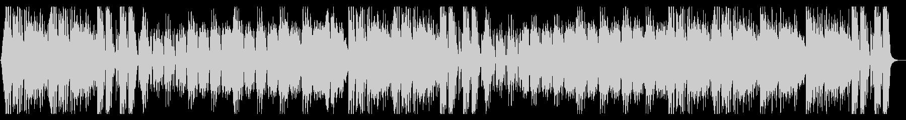 怪しげなヒップホップ系オーケストラの未再生の波形