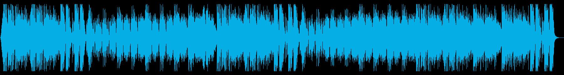 怪しげなヒップホップ系オーケストラの再生済みの波形