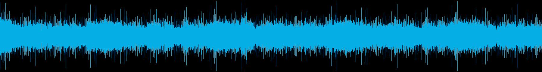 冷酷ホラーループBGMの再生済みの波形