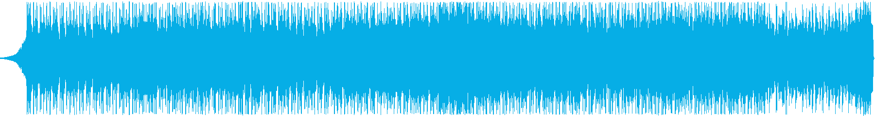 Bright and energetic EDM's reproduced waveform