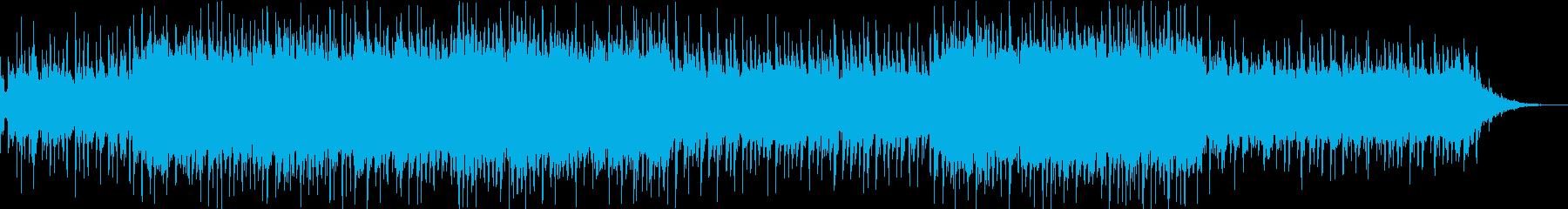 柔らかい雰囲気のテクノポップの再生済みの波形