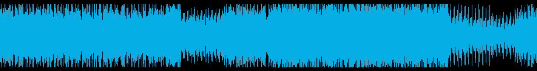 緊張感のあるテクノサウンド2の再生済みの波形