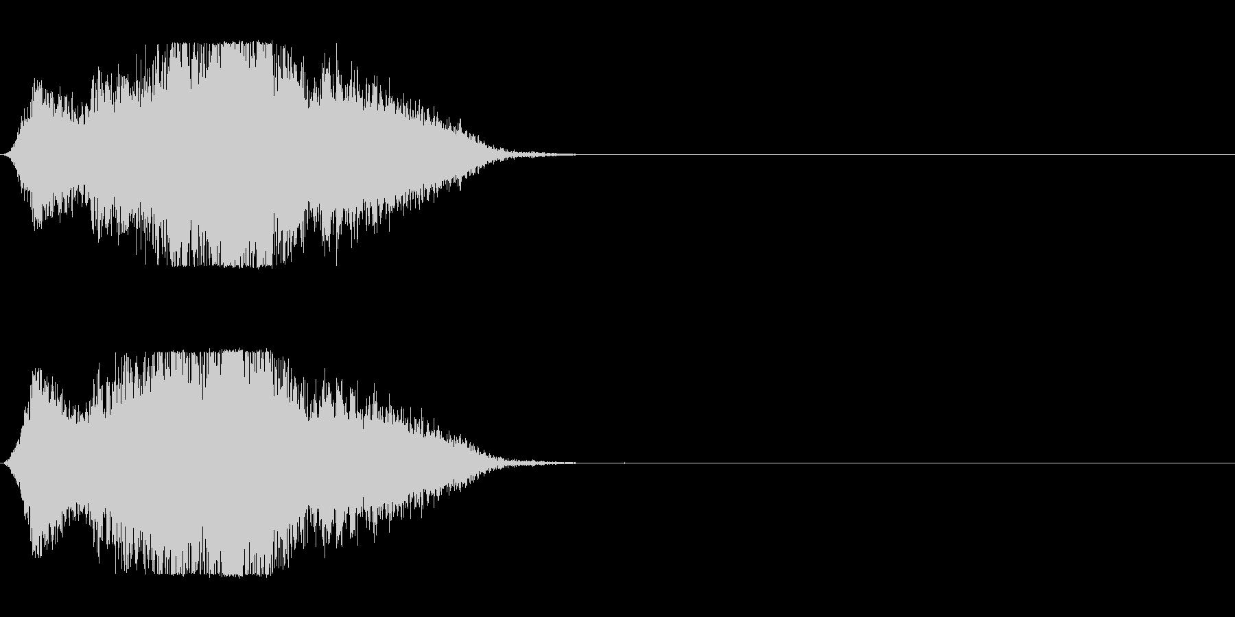 風で切り裂く音_3の未再生の波形