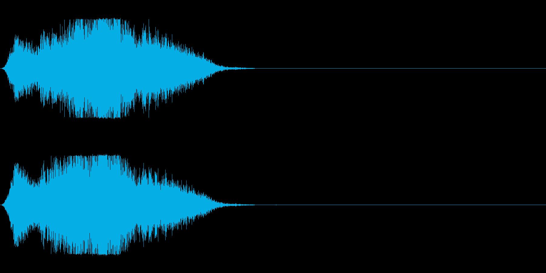 風で切り裂く音_3の再生済みの波形