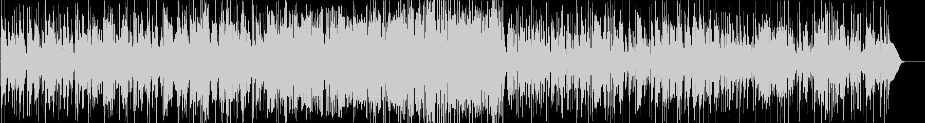 ショパンのピアノジャズアレンジの未再生の波形