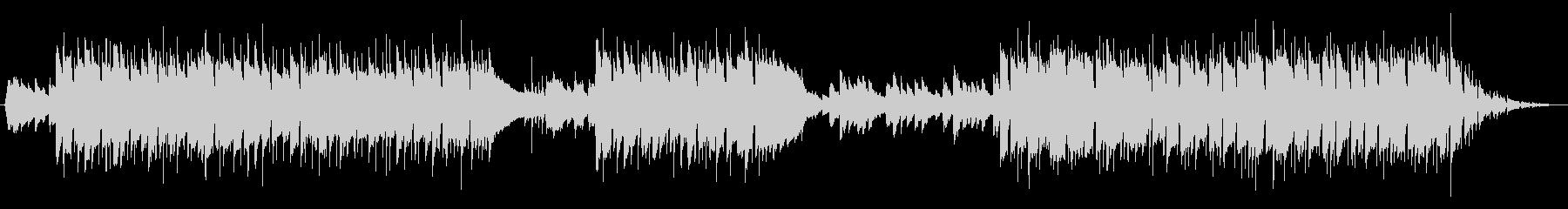 アコースティックギターのBGMの未再生の波形