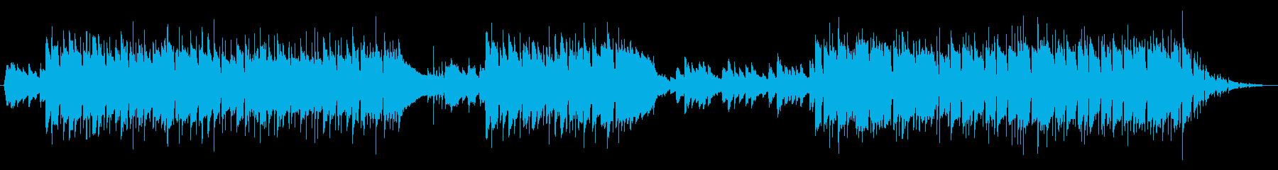 アコースティックギターのBGMの再生済みの波形