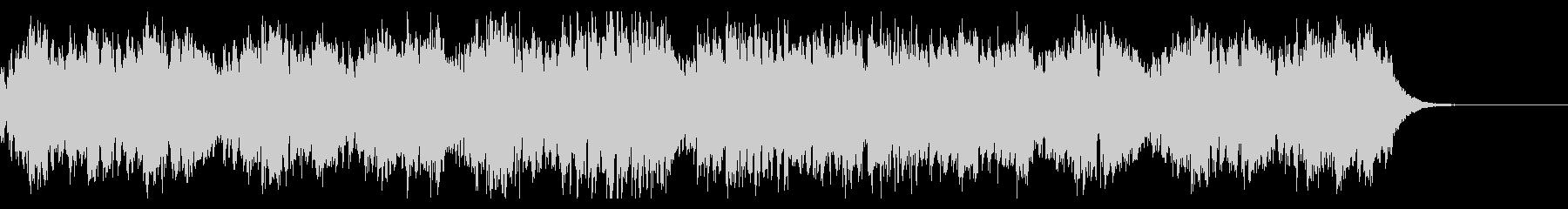 歪ギターが炸裂するアップテンポの上げ曲の未再生の波形