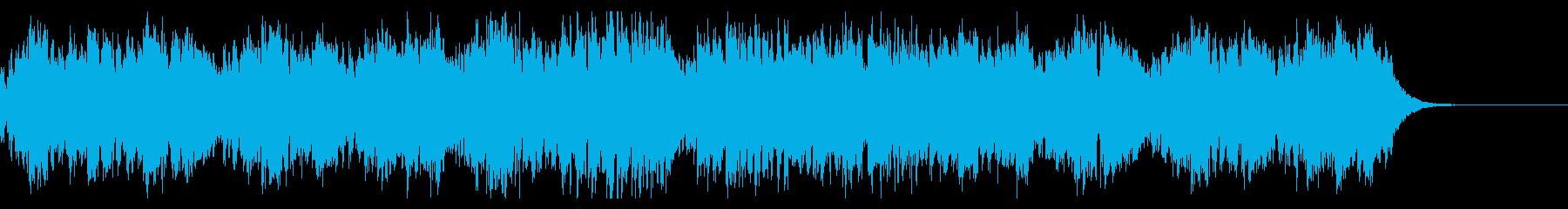 歪ギターが炸裂するアップテンポの上げ曲の再生済みの波形