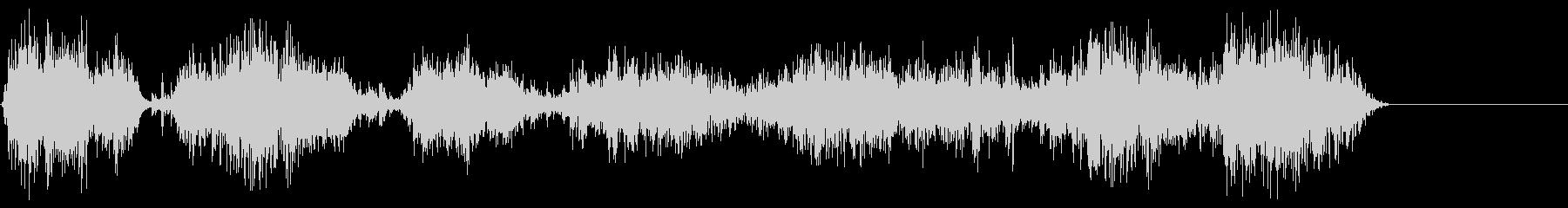 チェーンラトル;チェーンの動きに沿...の未再生の波形