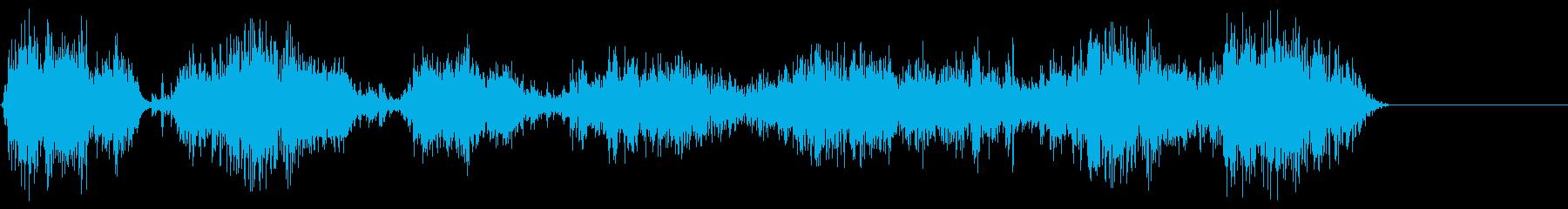 チェーンラトル;チェーンの動きに沿...の再生済みの波形