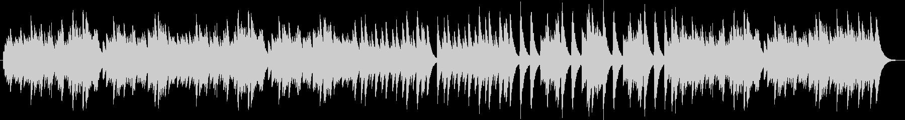 シチリアーナ(オルゴール)の未再生の波形