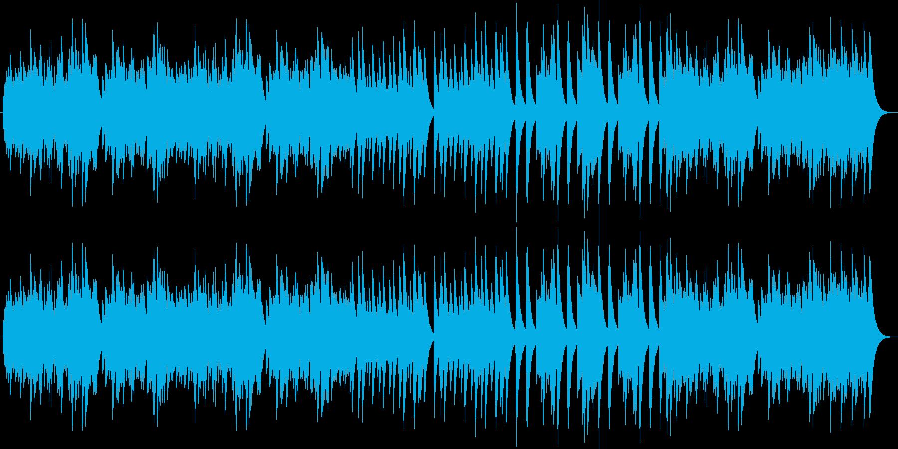 シチリアーナ(オルゴール)の再生済みの波形