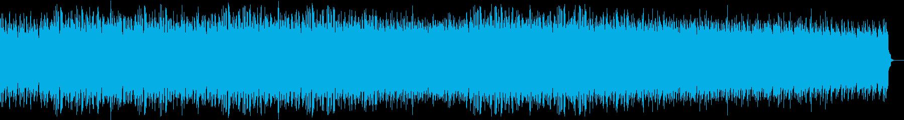 ピアノベースのエレクトロの再生済みの波形