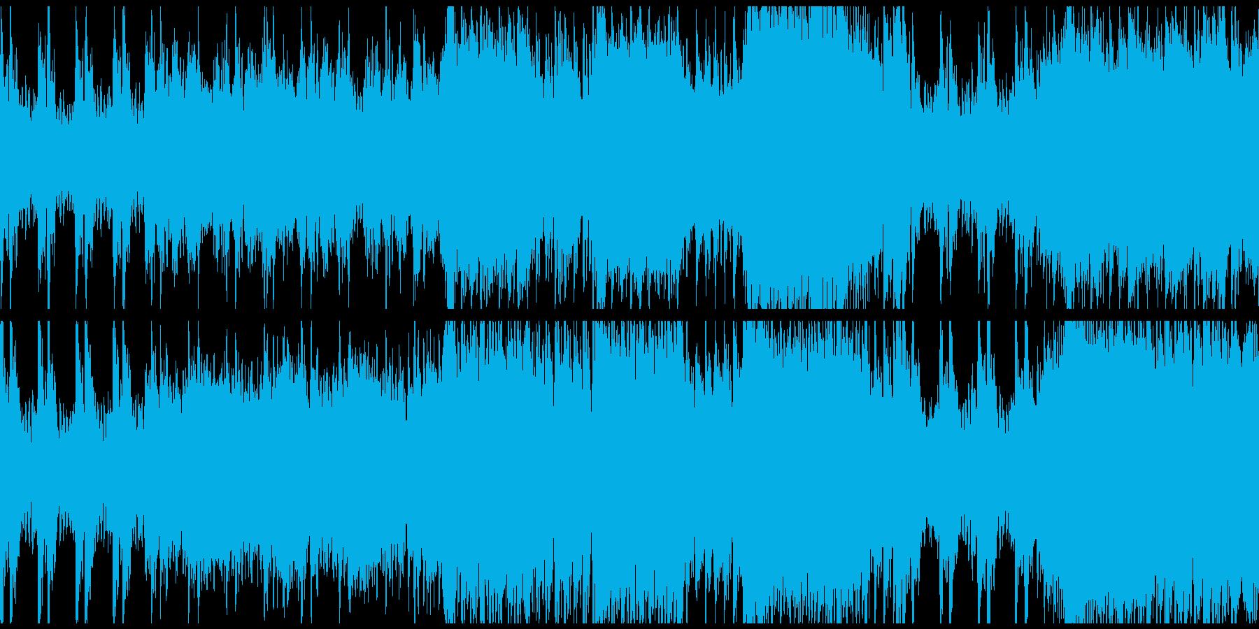 情熱的なオーケストラワルツ(ループ)の再生済みの波形