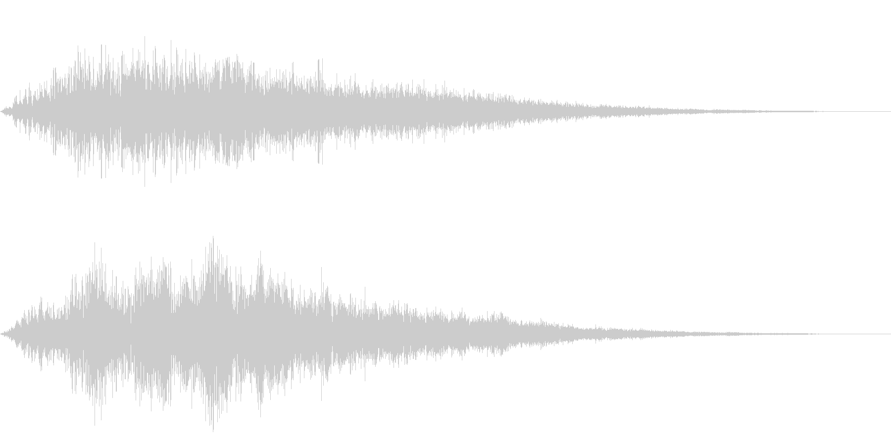 CINEMATIC DARK SFXの未再生の波形