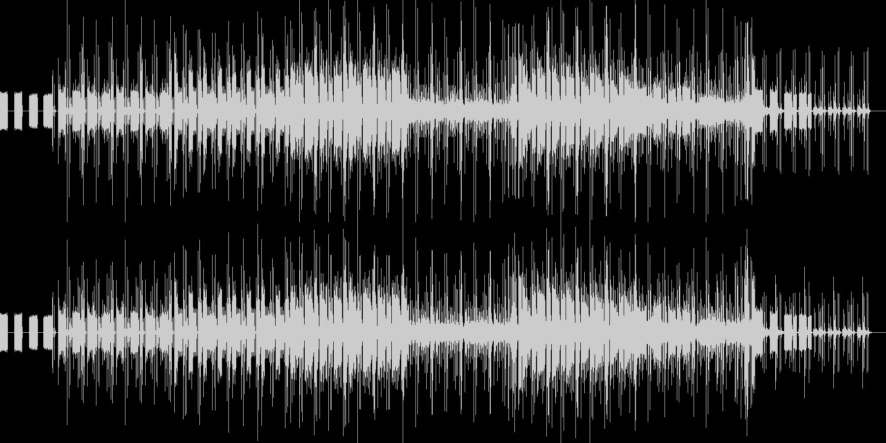 チルでメロウなR&Bの未再生の波形
